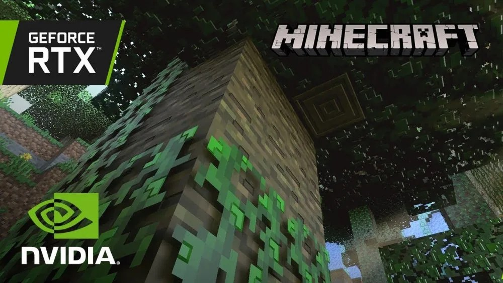 Minecraft with RTX