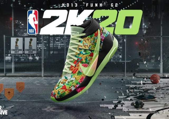 NBA2K MyPlayer Nation GE - KD13 'Funk' - Hero