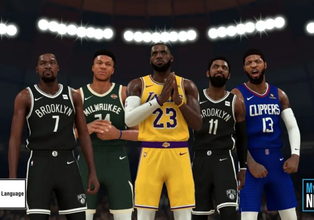 NBA2K20 Group Photo