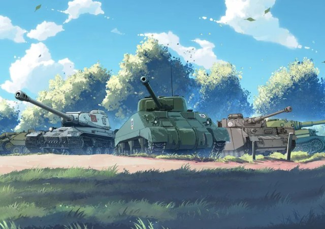 Girls und Panzer Vehicles