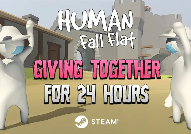 24 Hour Human Fall Flat Charity Sale