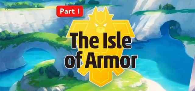 Pokemon Sword The Isle of Armor