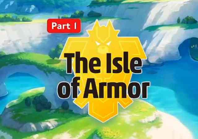 Pokemon Sword The Isle of Armor