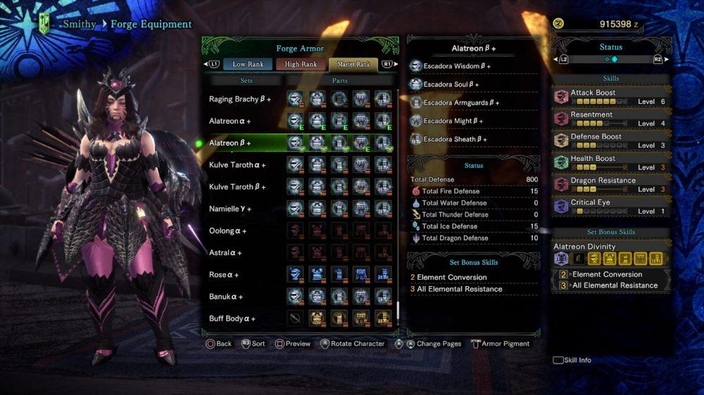 GUIDE for Monster Hunter World's Alatreon 8