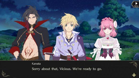 Scenario (with original characters)