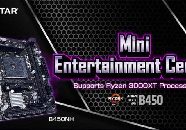 B450NH MINI-ITX MOTHERBOARD