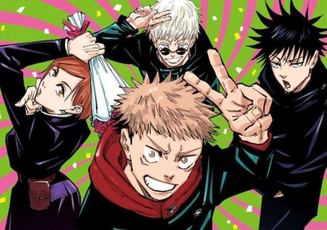 Jujutsu Kaisen airs exclusively on Crunchyroll