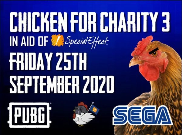 PUBG Corporation supports Chicken For Charity 3 tournament