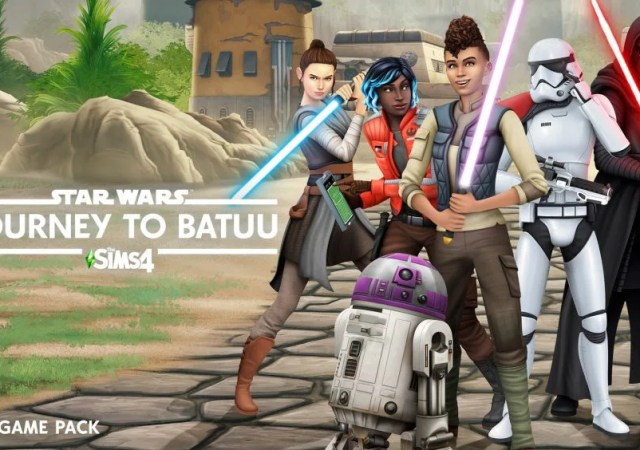 he Sims 4 ,Star Wars: Journey to Batuu