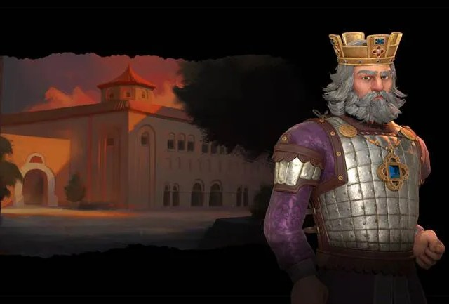 Civilization VI New Frontier Pass First Look at Basil II of Byzantium