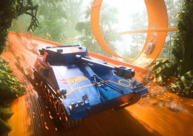 WORLD OF TANK HOT WHEELS