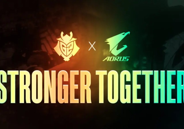 GIGABYTE AORUS and G2 Esports