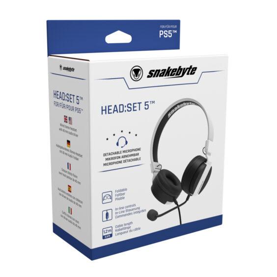 snakebyte PS5 Head Set 5™ Packaging 01