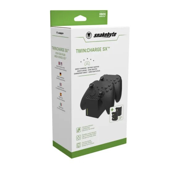 snakebyte XSX Twin Charge SX™ (black) Packaging 01