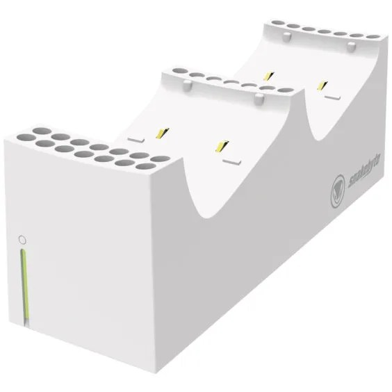 snakebyte XSX Twin Charge SX™ (white)