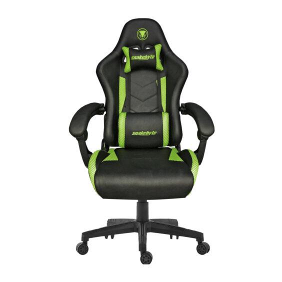 snakebyte universal Gaming Seat EVO™ green