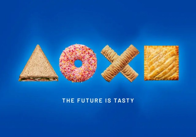 greggs and playstation
