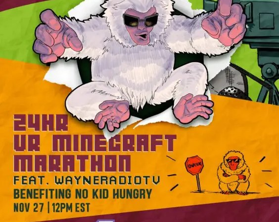 Minecraft Marathon for No Kid Hungry