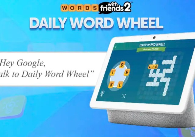 Daily Word Wheel