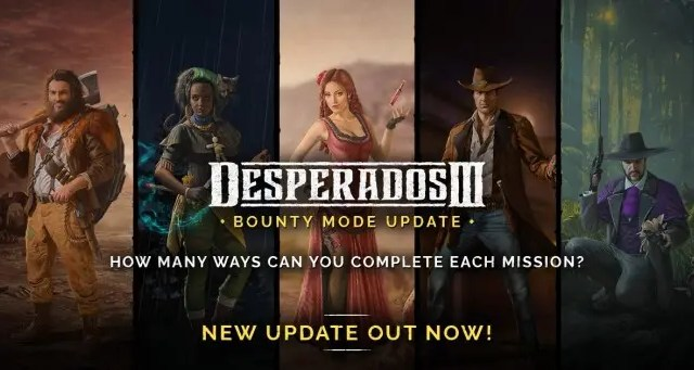 Desperados III Bounty Mode