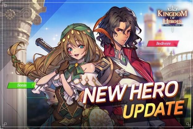 Kingdom of Heroes Tactics 2 New Heroes