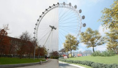 London Eye in Watch Dogs_ Legion