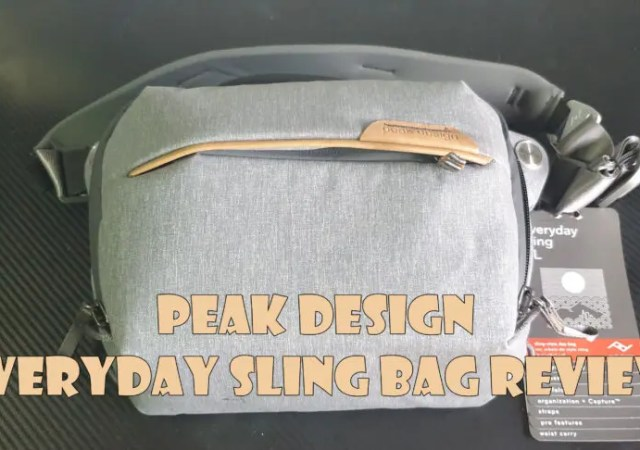 Peak Design Everyday Sling Bag Review