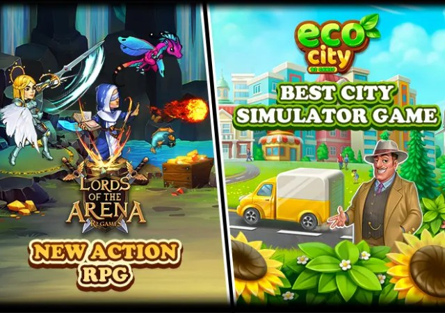 R2Games Launches Eco City and Lords of the Arena