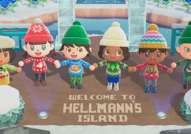 hellmanns island