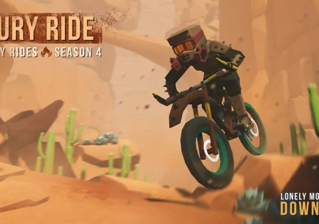 Lonely Mountains Downhill Daily Rides Season 4 FURY RIDE