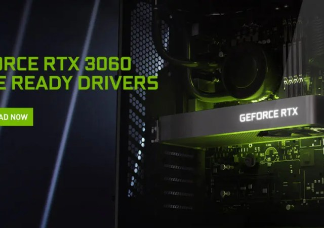 Game Ready Driver for GeForce RTX 3060