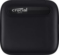 Crucial X6 Portable SSD Flat Front Image