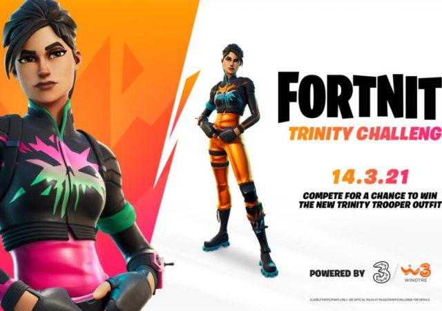 Fortnite Trinity Challenge