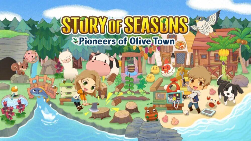 STORY OF SEASONS Pioneers of Olive Tow
