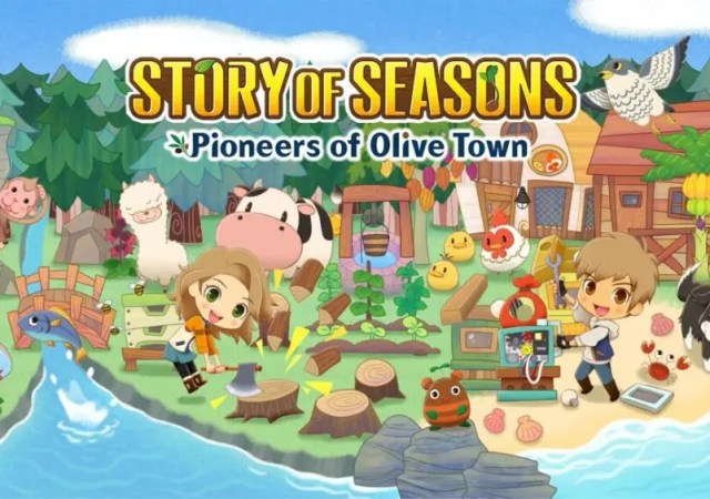 STORY OF SEASONS Pioneers of Olive Tow
