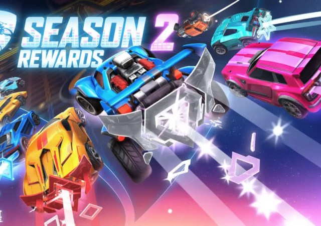 rocket league season 2 rewards