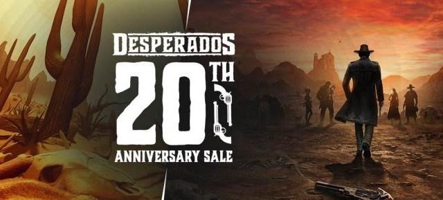 Desperados 20th anniversary Sale