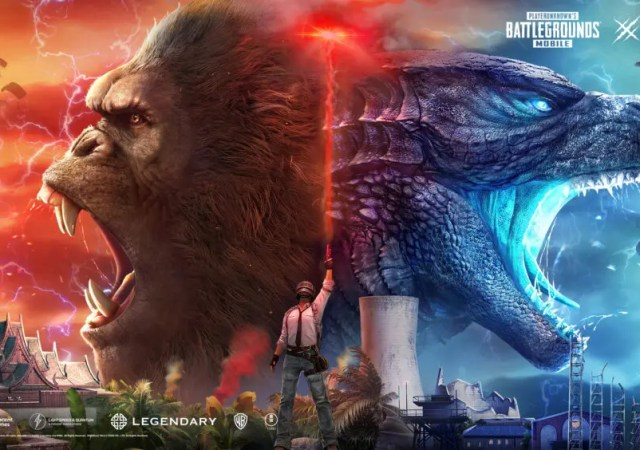 PUBG MOBILE adds Godzilla vs. Kong