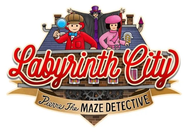 Labyrinth City Pierre the Maze Detective