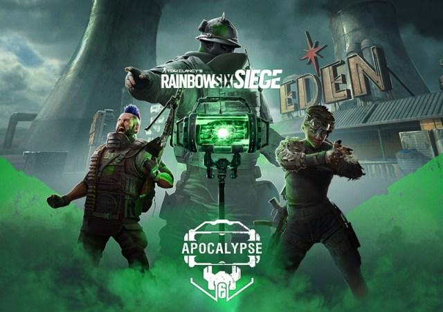 R6 Apocalypse Keyart Siege
