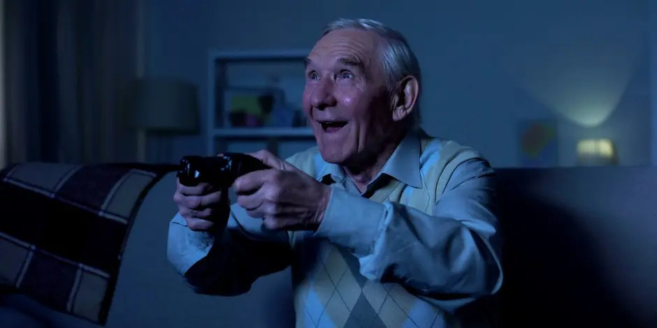 Gaming Demographic of 55 to 64 Year Olds Up by 32%