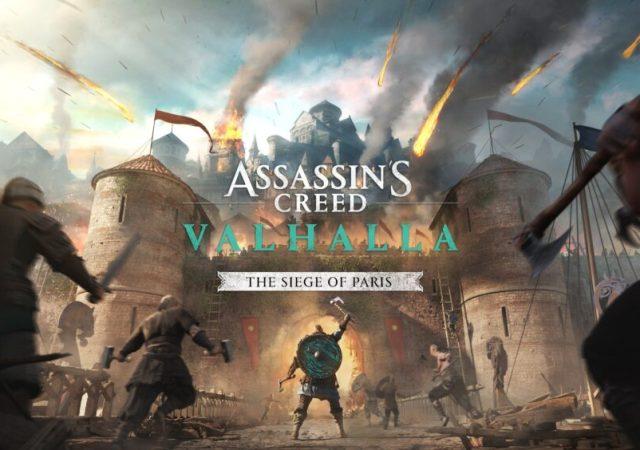 Assassins Creed Valhalla The Siege of Paris Announced