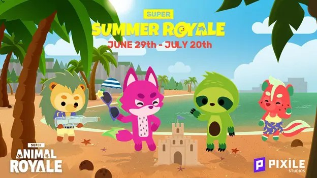 Super Animal Royale Summer Royale