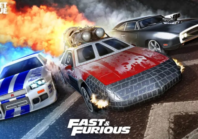 fast furious rocket league