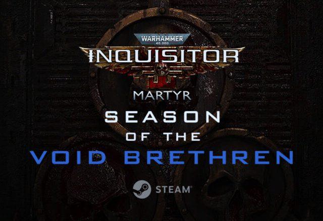 Warhammer 40K Inquisitor Martyr Season of the Void Brethren