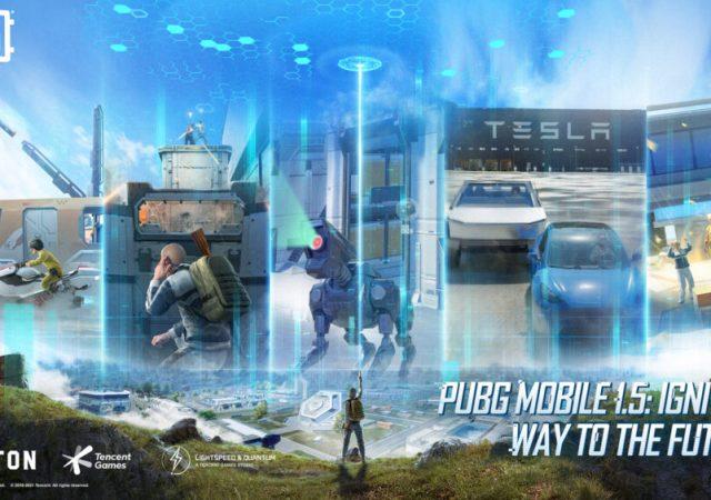 PUBG Mobile update 1.5