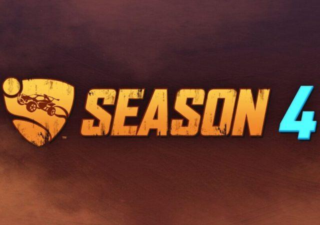 Rocket League Season 4 Starts August 11th