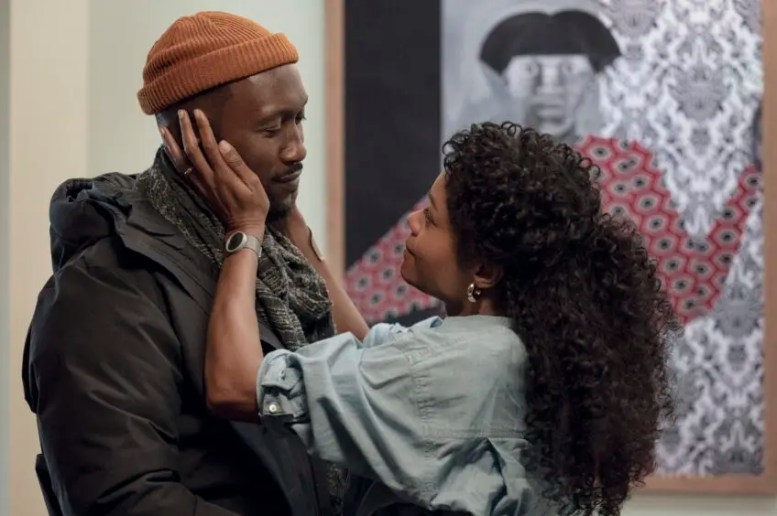 """Mahershala Ali and Naomie Harris in """"Swan Song,"""" coming soon to Apple TV+. Courtesy of Apple"""