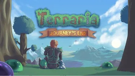 Terraria Journey's End Now Available