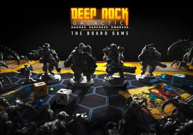 Deep Rock Galactic The Board Game revealed